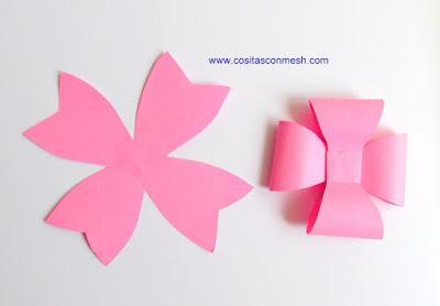cmo hacer moos de papel para regalos