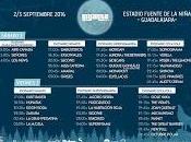 Festival Gigante 2016, horarios