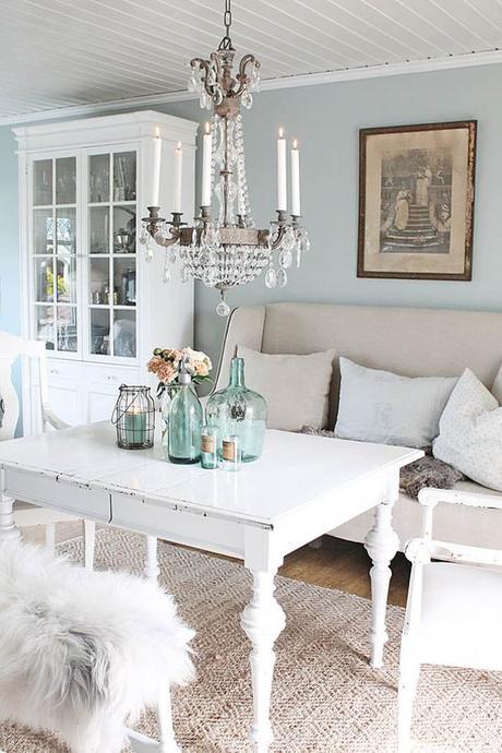 Decoracion De Muebles Pintados.Ideas Para Decorar Con Muebles Pintados En Blanco Paperblog