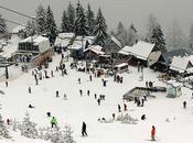 Brezovica Kosovo hermosa Estación Esquí