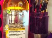 Agua micelar garnier skin active aceite/óleo