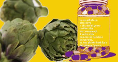 Pastillas a base de alcachofa para adelgazar