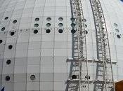 edificio esferico grande mundo