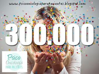 Resultado de imagen para 300000 visitas blog
