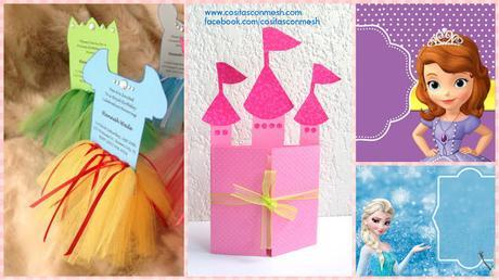 C mo hacer tarjeta de cumplea os inspirado en princesas for Hacer tarjeta cumpleanos