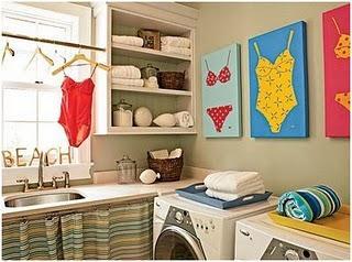 equipar y decorar el cuarto de lavado consejos