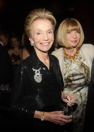 Lee Radziwill Anna Wintour