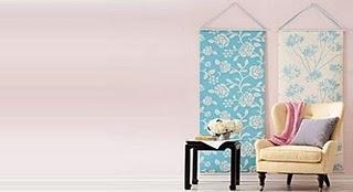 decorar con paneles de tela
