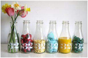 decorar botes y botellas con telas