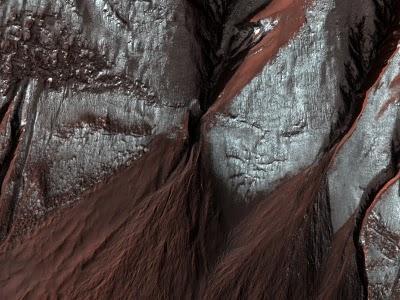 Últimas imágenes de Marte por la MRO