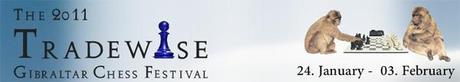 Comenzó el Festival de Ajedrez Tradewise en Gibraltar 2011