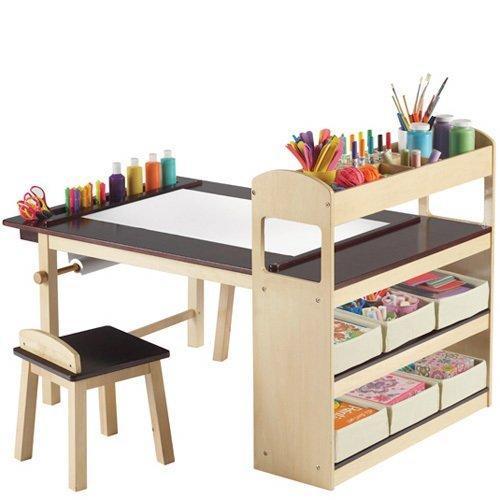 Deluxe Art Center, mesa escritorio para niños artistas - Paperblog