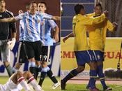 Sudamericano Argentina Brasil, liderando pese todo