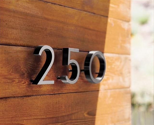 Timbre Y N 250 Meros Para La Casa Modernos Paperblog