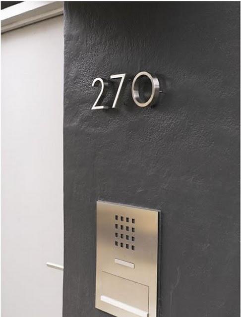 Timbre y n meros para la casa modernos paperblog - Timbre de casa ...