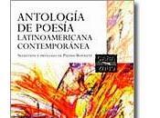 Sobre nueva antología poesía latinoamericana