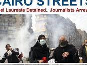 """Violencia calles Cairo: imágenes tradicionales gráfico """"corte internet"""""""