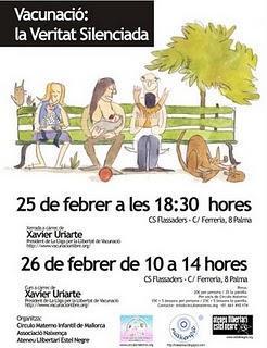 La Universidad de las Islas Baleares publicita conferencias antivacunación entre su alumnado