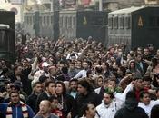 egipcios siguen sublevados, Washington maniobra video situación Museo Cairo)