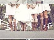 Novia amigas novia botas