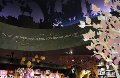 Rediseño de las tiendas Disney