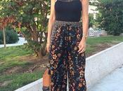 Culotte: Pantalón palazzo midi