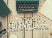 fórmulas copywriting para crear artículos irresistibles leer
