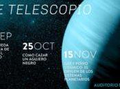 """Charla búsqueda científica vida Universo"""" observación UDP, Santiago"""