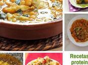 recetas proteínas vegetales fáciles preparar