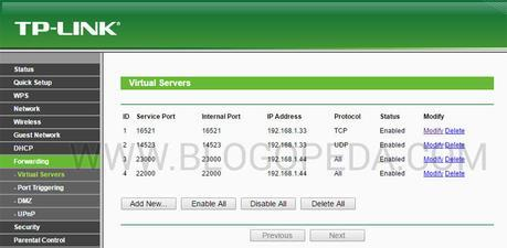 abrir puertos en un router neutro TP-LINK TL-WR841N