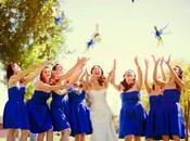 Looks para invitadas: Azul Eléctrico