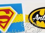 Invitaciones Cumpleaños Superhero Birthday Card Superman Batman