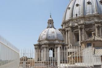 Vistas cúpula del vaticano