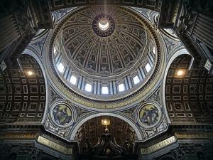 Interior Cúpula del Vaticano