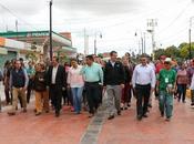 Inauguran obra calle Manuel José Othón