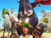 Locuras Robinson Crusoe llegan película animación.