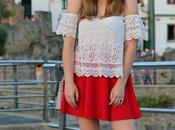 Perfecta falda roja