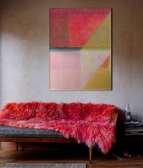 arte y decoracin algunos ejemplos de cmo elegir un color