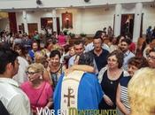 personas reunieron para despedir Padre Francisco como párroco Montequinto
