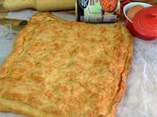 Empanada hortalizas atun huevo.