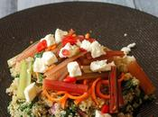 Ensalada acelgas quinoa