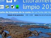 Campaña Limpieza Costa Punta Hidalgo