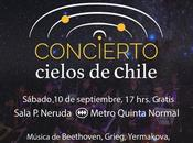 """Concierto """"Cielos Chile"""" Santiago"""