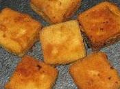 Sándwiches fritos pimientos