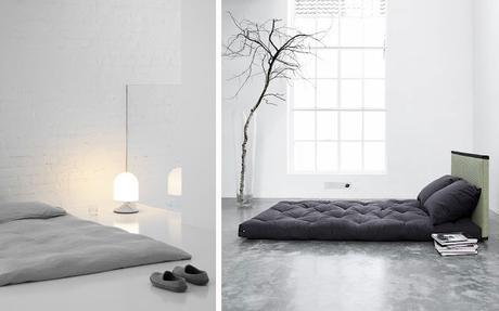 Un tatami o una cama en el suelo paperblog - Camas en el piso decoracion ...