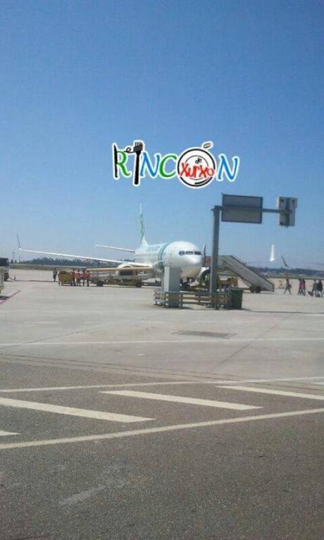 Avión Transavia a Madeira
