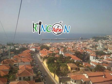Vistas desde teleférico Funchal