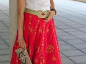 Falda india vintage