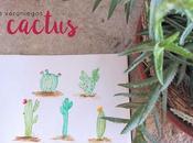 Dibujos veraniegos: Cactus