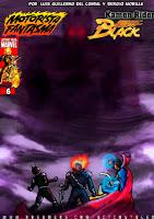 Motorista Fantasma y Kamen Black Rider nº06